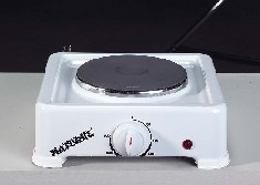 cooker with hotplate