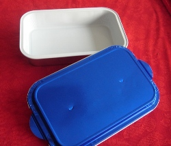 Aluminum foil container  airline lunch box
