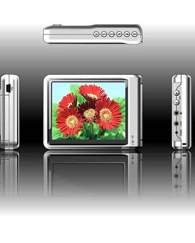 4GB MP4 Players with 3.6