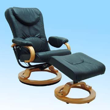 Recliner Chair with Ottoman, Built with Comfortable Cus