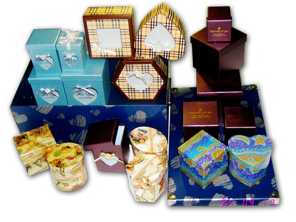 paper gift storage packaging promotional box