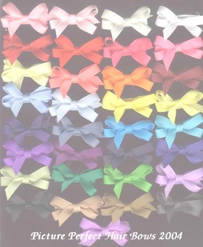 Grosgrain Hair Bows for Infants and Toddlers
