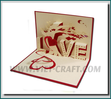 Love And Valentine 3d Car