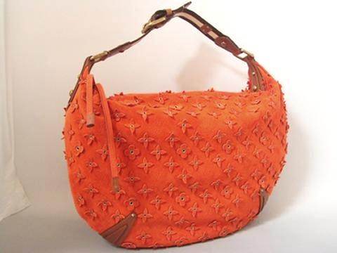Louis Vuitton Onatah gm Flower Orange