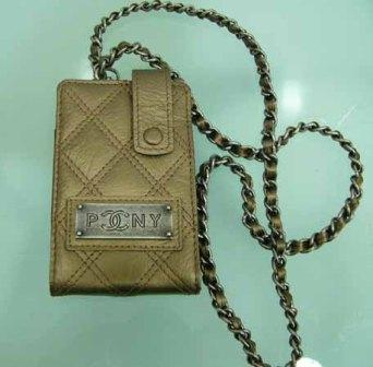 Chanel Cell Phone Purse with hardware