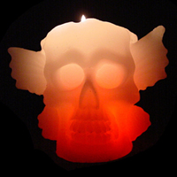 Dreaming Candle Halloween Series-Skull