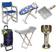 Ironing boards, clothes drying racks, barbecues, shoppi