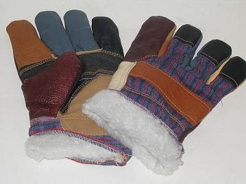 Leather Winter Gloves(dh5