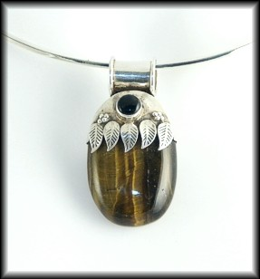 Tigers Eye Feathers
