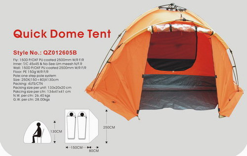 Quick Dome Tent