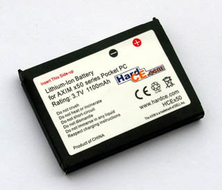 PDA Battery for DELL AXIM X50