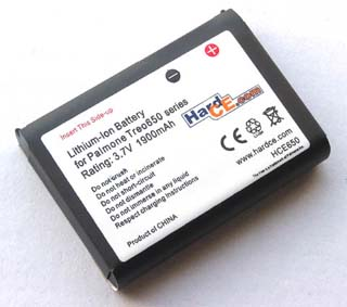 PDA Battery for PalmOne Treo 650