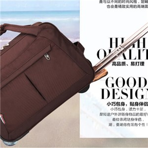 Trolley Duffle Bag With W