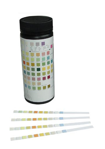 ISO13485 Approved One Step Urinalysis Reagent Strip