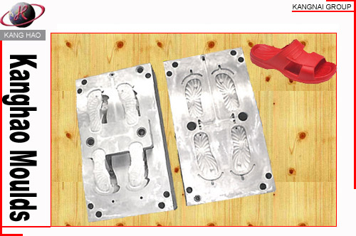 EVA foaming injection footwear mould