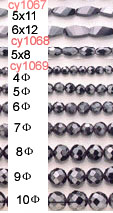 manufacturer supply magnetic beads hematite beads