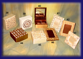 Utility Boxes, Jewellery Boxes