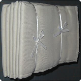 100PCT Cotton Chinese prefold diapers