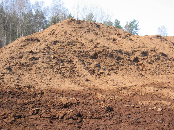 Peat moss and natural fertilizers