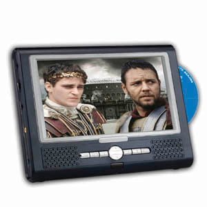7inch portable dvd player with tv function
