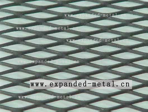 plain steel expanded metal