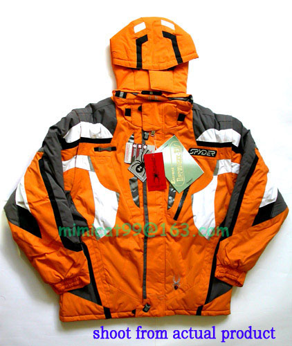 spyder,columbia,canada goose,peak,north face,ski wear