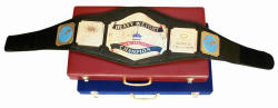 Wrestling boxing belts
