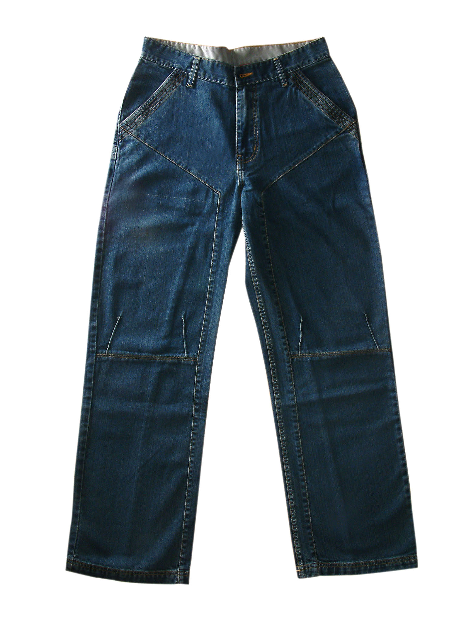 Various styles of Jeans, skirts, jackets, shorts etc
