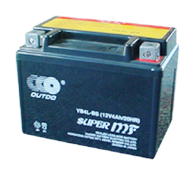 use-prepared motorcycle battery