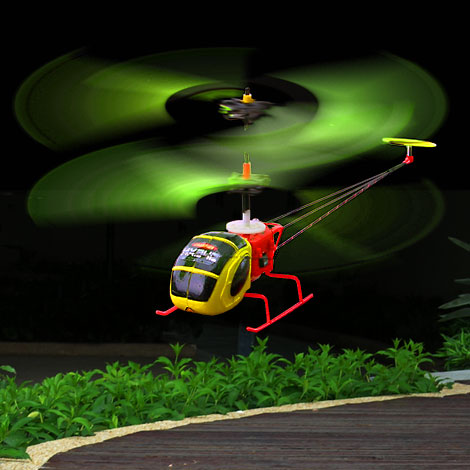 Mini helicopter Supported by Coaxial Rotor(242)