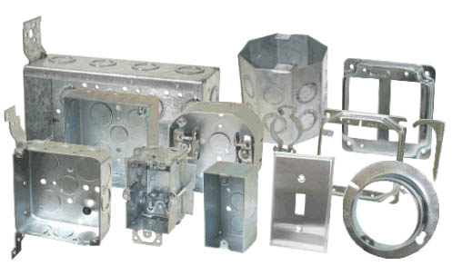 outlet box;metal box;outlet cover;wall plate