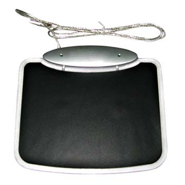 computer mouse pad with 4-port hub