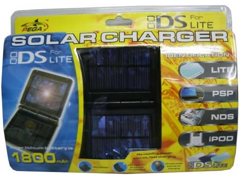 NDS LITE LIGHT AUTO IDENTIFICATION FAST SOLAR CHARGER