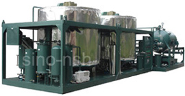 sino-nsh used motor oil remediation system