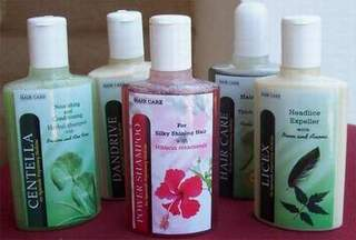 Natural Herbal Hair care products