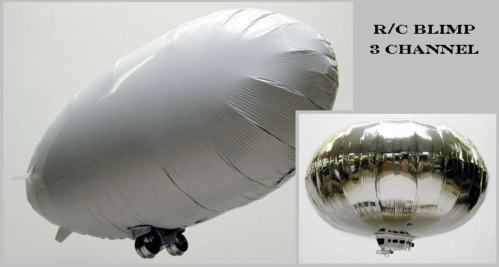 RC Blimp 3 Channel