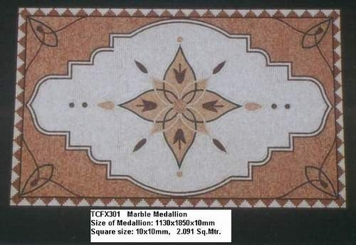 Stone mosaic decoration for wall and floor