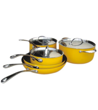 8PCS SUPER-DUVABLE NON-STICK SET
