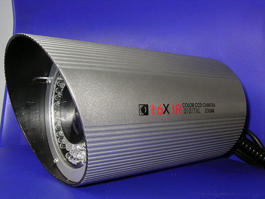 16x Optical Zoom whether Sony CCD Cam