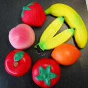 Fruit Rubber Toy