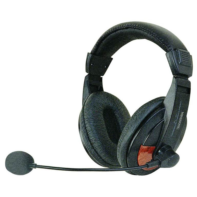 Multimedia Stereo Headphone with microphone