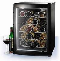 Thermoelectric wine cooler and cellar capacity 20B