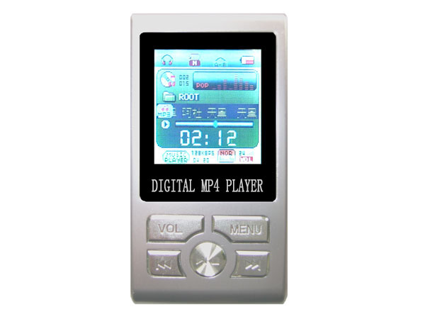 MP4 player with voip phone for skype