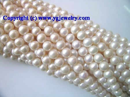 Fresh Water Pearl Jewelry & Beads