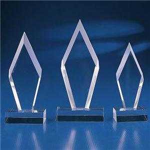 Glass Corporate Trophy