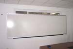White board with aluminum frame